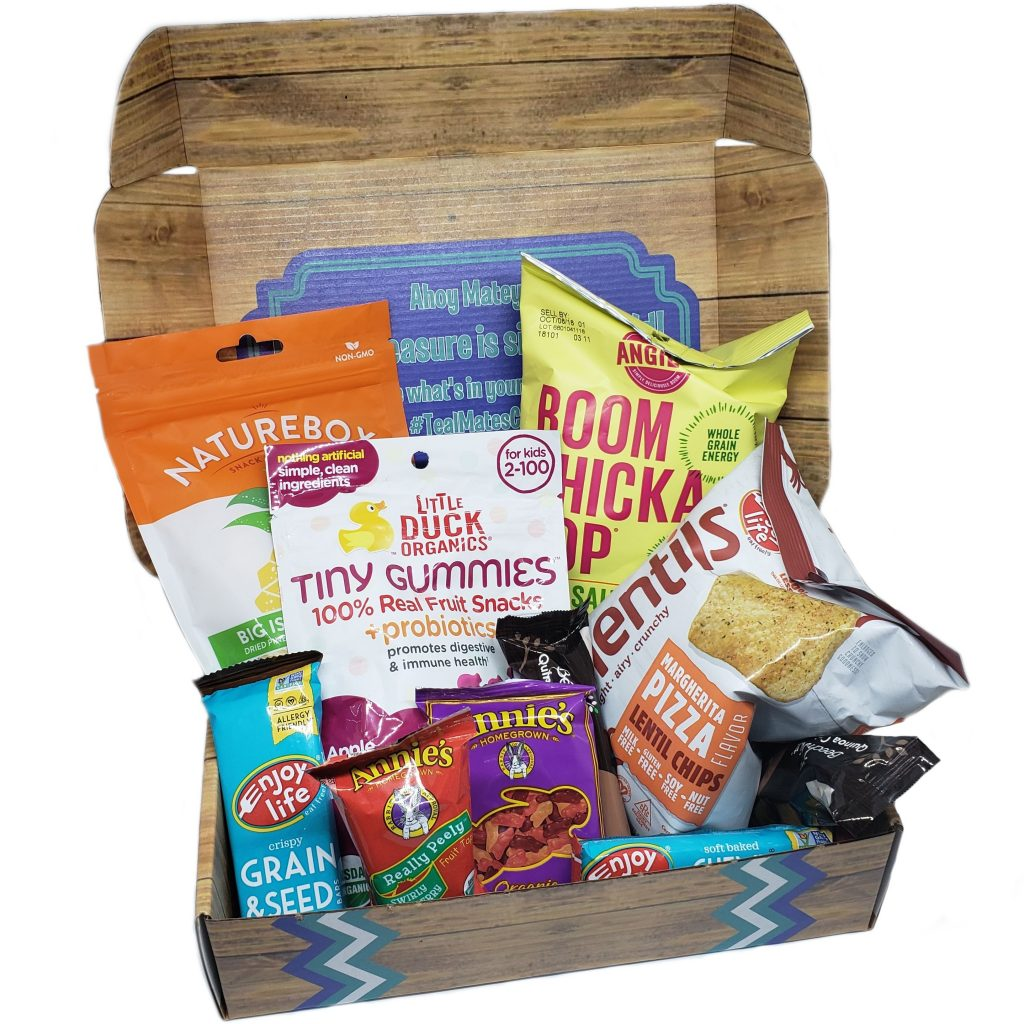 TealMates Allergy Friendly Snack Box